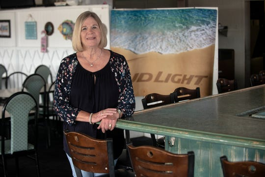 Jan Goings, owner of Jan's Beach House Grill on Eastern Boulevard in Montgomery, chose to keep her doors closed during Alabama's coronavirus outbreak restrictions.