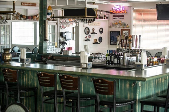Jan Goings, owner of Jan's Beach House Grill said she wouldn't have enough space around her bar and in the restaurant to maintain social distancing and have enough customers.