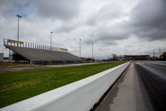 The raceways at National Trails Raceway will most likely rain empty this summer due to the pandemic and social distancing.