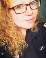 Trisha Zittel is an EMT for Saint Clare's, working long overtime hours during the pandemic.