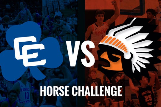 The Catholic Central and Brother Rice basketball teams will be facing off in a game of horse.