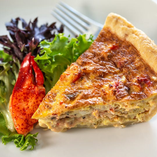 Quiche at Gertrude's.