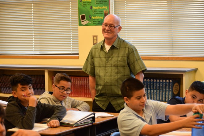 Tim Ramsey, a seventh-grade writing teacher at Westwind Elementary School in Phoenix has been in education for 37 years, 15 as an administrator and 30 in the Pendergast Elementary School District.
