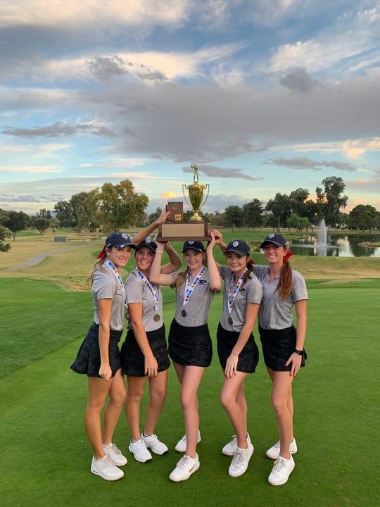Pinnacle's girls golf team
