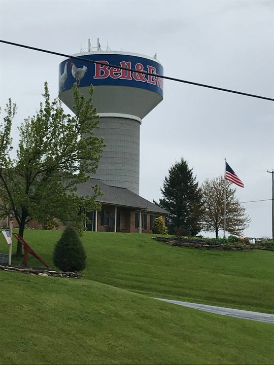Bell & Evans employs about 1,700 employees and is one of Lebanon County's largest employers.