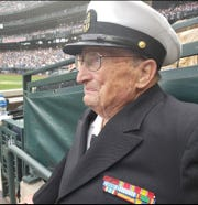 Bud was honored by the Seattle Mariners last summer. He got to ham it up on the field, his grandson said.
