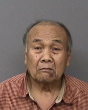 Nouan Mokthephathai, 75, of Redding was arrested last week on allegations that he killed two people in a Bunker Street home next to his on April 23, 2020.