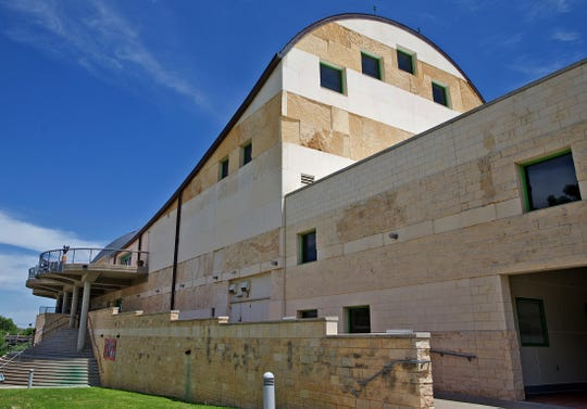 The San Angelo Museum of Fine Arts, seen in this Friday, May 1, 2020 photo, is in the process of creating itsreopening plan now that some COVID-19 restrictions have been relaxed.