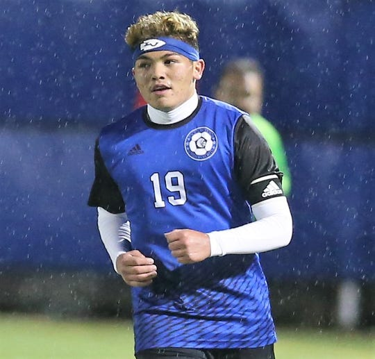 San Angelo Lake View High School sophomore sweeper/halfback Joshua Torres was named the Defensive MVP on the 2020 All-District 4-4A Boys Soccer Team.