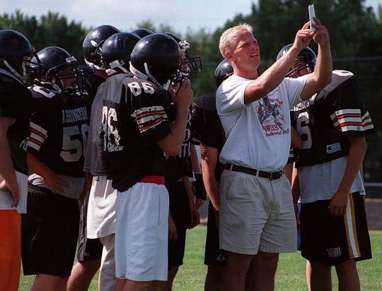 Kalen DeBoer was an assistant coach at Washington High School in 1998-99.