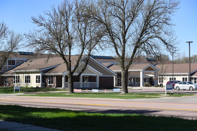 The Good Samaritan Assisted Living complex is seen on Friday, March 1, in Sioux Falls.
