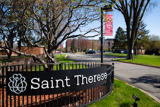 St. Therese Senior Services in New Hope is shown on Thursday, April 30, 2020. The  suburban Minneapolis nursing home said 47 residents have died from complications of COVID-19, the most at any long-term care facility in Minnesota.