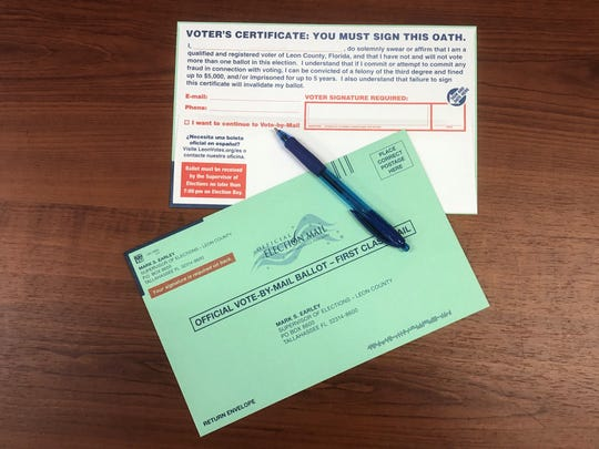 Even if you request a Vote-By-Mail ballot, you can still vote in person during early voting or on Election Day.