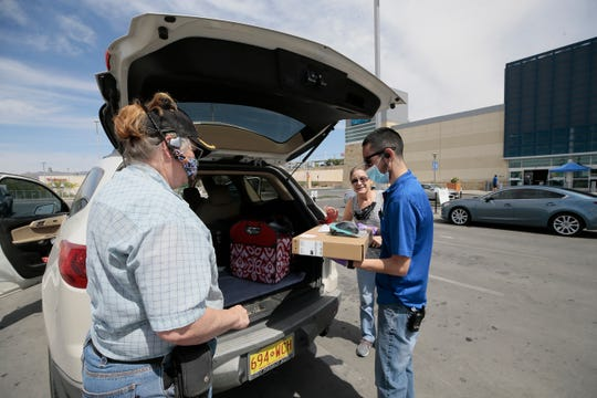 Best Buy at The Fountains at Farah continued operating with curbside service Friday despite the expiration of the Stay Home, Work Safe order in El Paso.