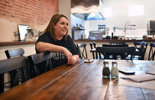 Hometown Coffee & Tea owner Holly Bailey talks about the ups and downs of operating a small business in a small town during a pandemic.