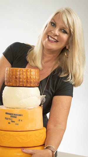 Suzanne Fanning, Senior Vice President for Dairy Farmers of Wisconsin and Chief Marketing Officer for Wisconsin Cheese