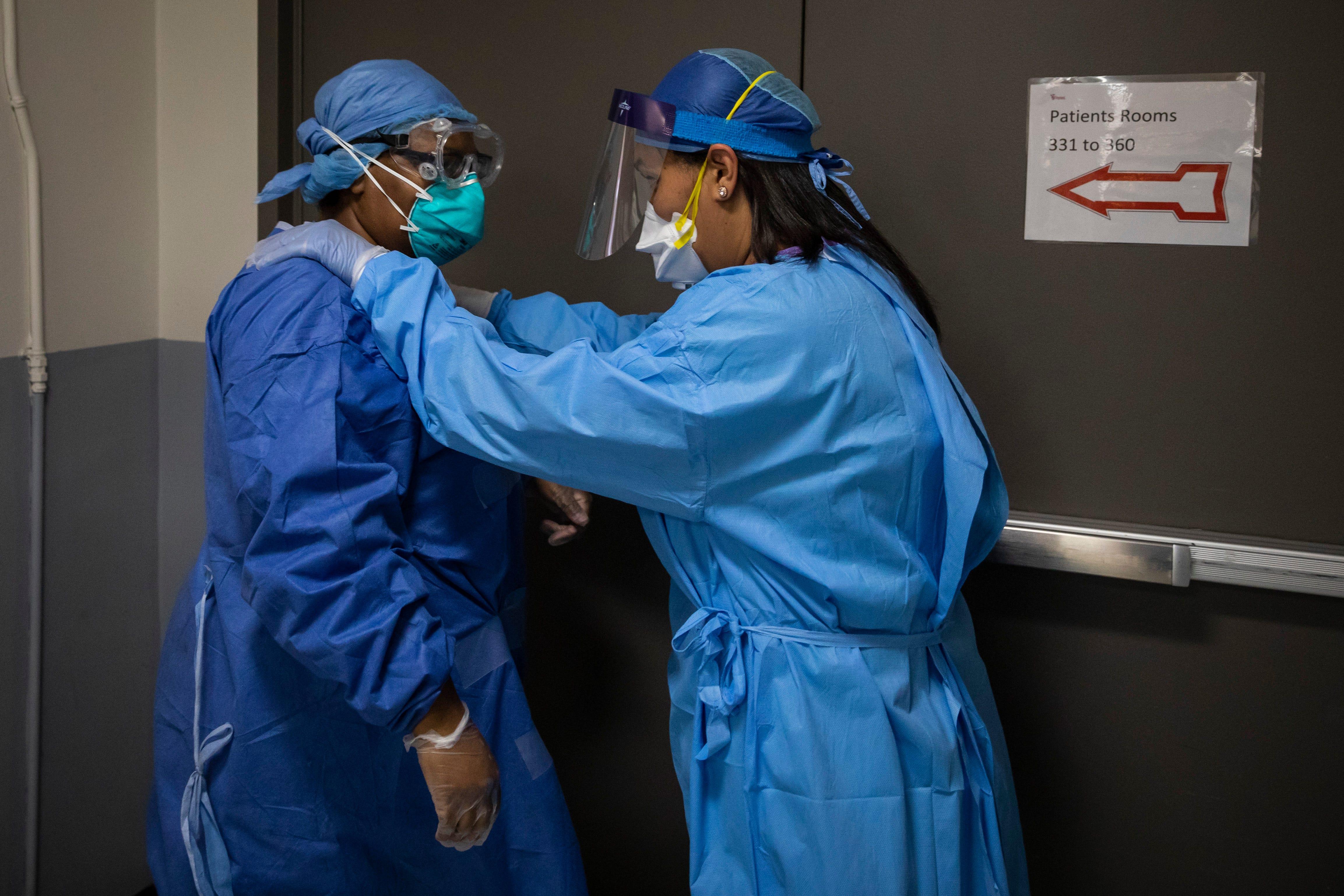 Coronavirus Death Count Has Doctors Struggling With Mental Health