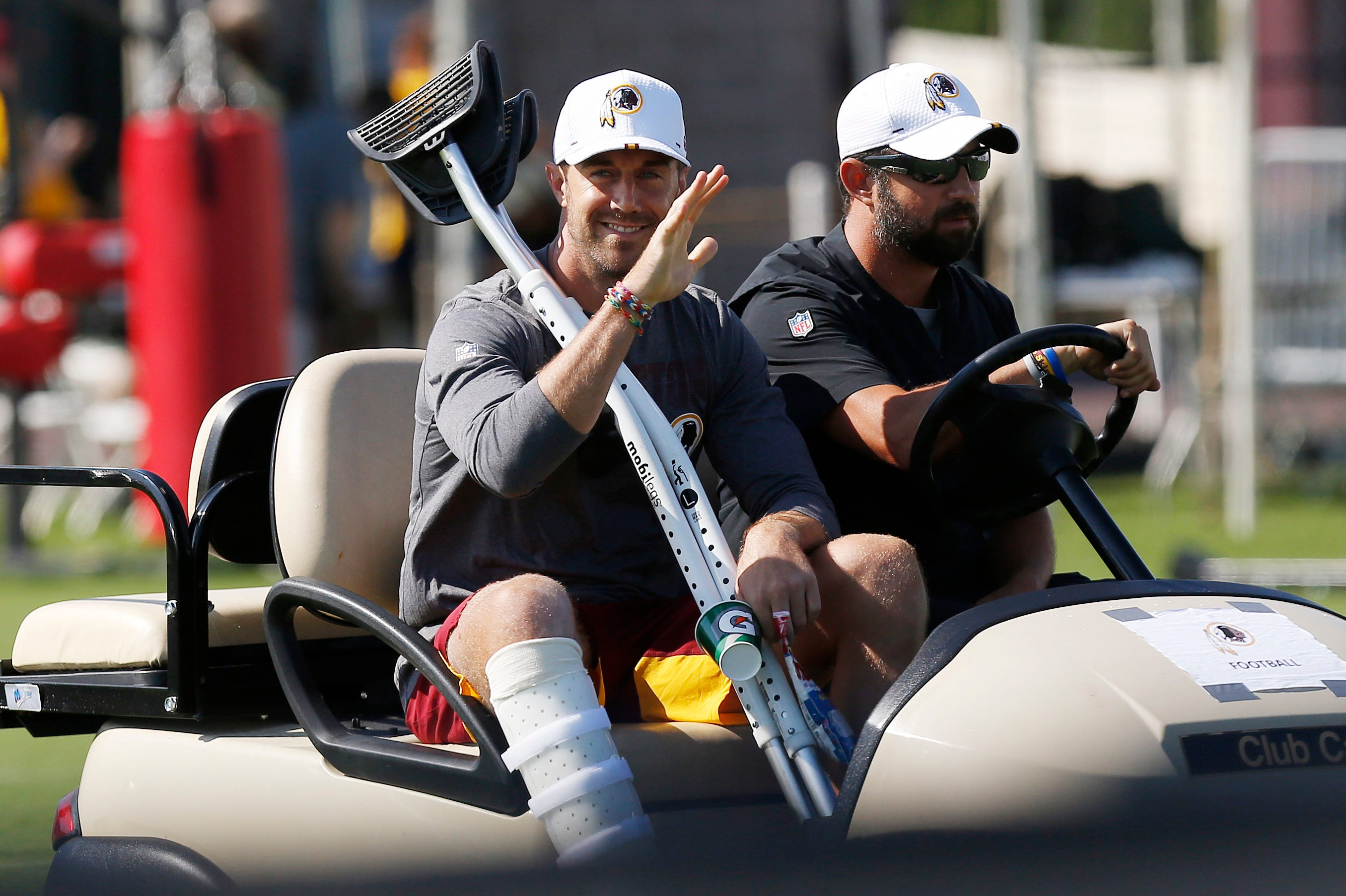 Alex Smith s road to recovery included stay at facility helping wounded military veterans