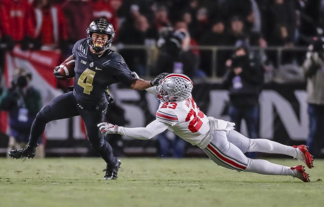 23. Rondale Moore, WR, Purdue