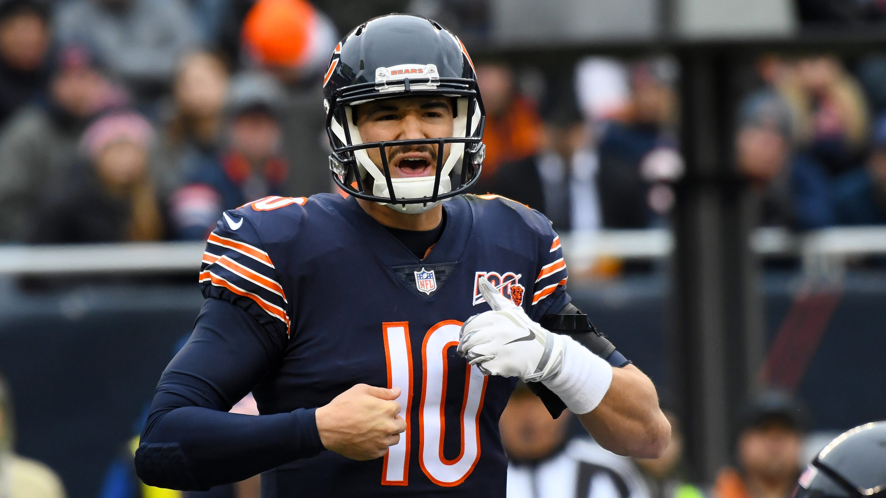 Reports: Chicago Bears decline QB Mitchell Trubisky's fifth-year option