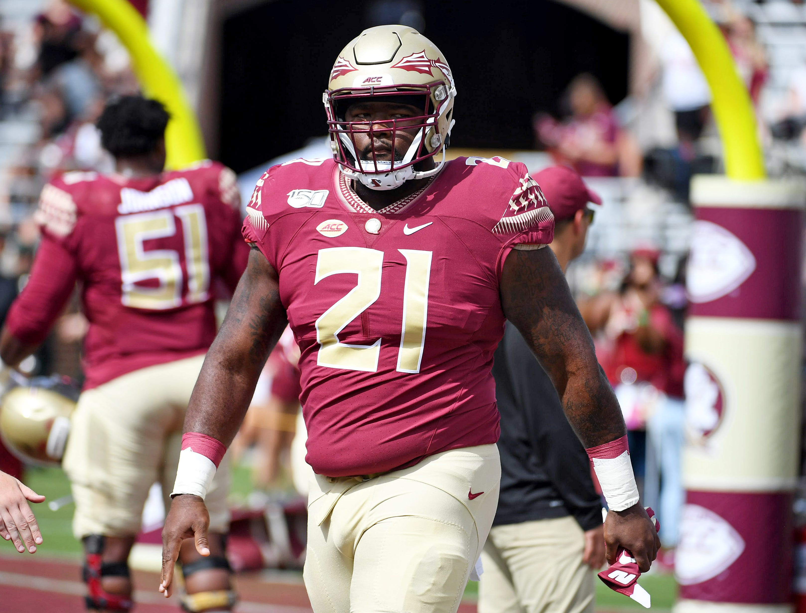 Florida State player calls out coach, says team won t work out  until further notice