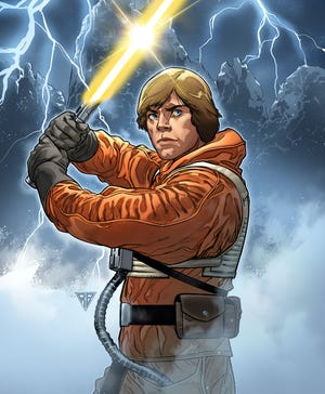 """Catch up with what Luke Skywalker was up to between """"The Empire Strikes Back"""" and """"Return of the Jedi"""" in Marvel Comics' flagship """"Star Wars"""" comic book."""