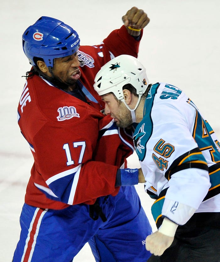 Former NHL tough guy Georges Laraque has COVID-19, pneumonia in both his lungs