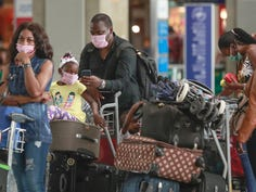 Many U.S. airlines including American, Southwest, United, Delta, Alaska, Frontier and JetBlue have announced passengers must wear masks while flying.
