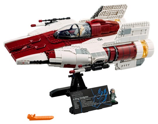 Need a project for this Star Wars Day? Splurge on the new Lego collectors series A-wing Starfighter.