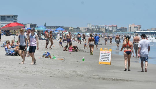 Brevard County beaches attract tourists and others who stay at short-term rentals like Airbnb despite restrictions.