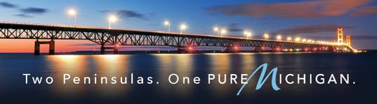"""This is new """"Pure Michigan"""" billboard going up around the state helping people stay strong during this difficult time"""