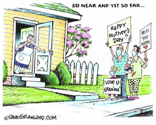 Gave Granlund editorial cartoon