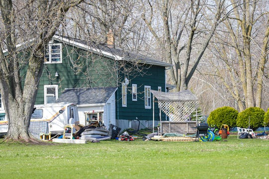 Fond du Lac City Police conducted a death investigation Saturday, May 2, 2020, in the backyard of this house on North Seymour Street in Fond du Lac, Wis.