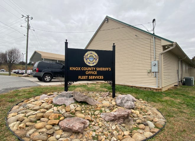The Knox County Sheriff's Office Fleet Services building is located on Maloneyville Road.