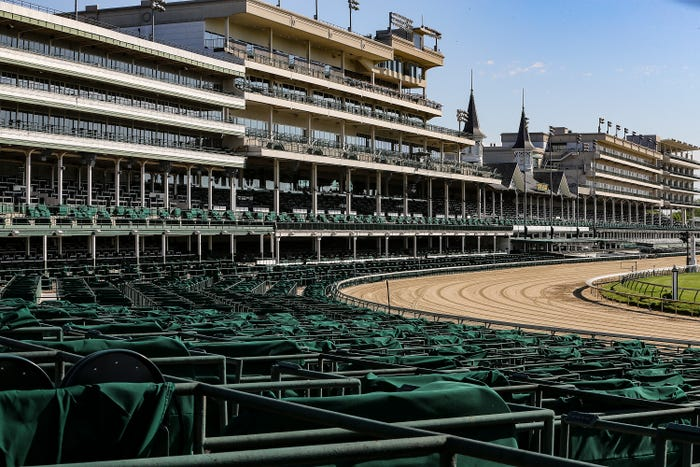Despite coronavirus-related uncertainties, officials say a 2020 Kentucky Derby remains definite