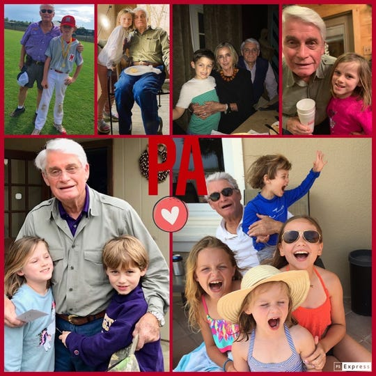Jimmy Woods' family prepared photo collages to brighten up his hospital room.