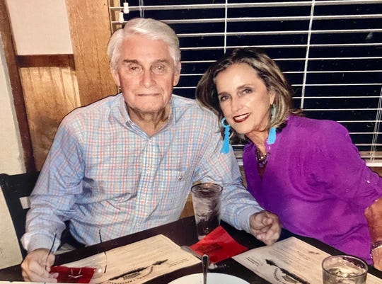 Jimmy and Claudia Woods at a celebration of their 53rd wedding anniversary.