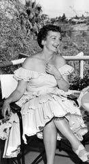 """Mildred, """"Mickey,"""" Wheeler circa 1956."""