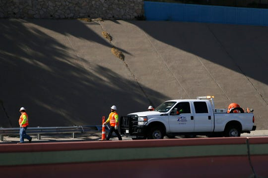 A fuel spill on Interstate 10 West near downtown has traffic backed up Friday, May 1, in El Paso. The spill happened before 3:15 p.m. on I-10 West near the Downtown exit, El Paso Police Department officials said.