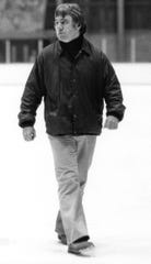 Jim Cross led the UVM men's hockey team for 19 seasons (1966-1984). Cross died on Saturday following complications from COVID-19.