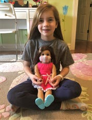 Eight-year-old Lexi Horvath, a second-grader at Franklin Elementary School in Westfield, used what she has learned about persuasive writing and a global pandemic to send a letter to the company that makes the popular American Girl dolls.