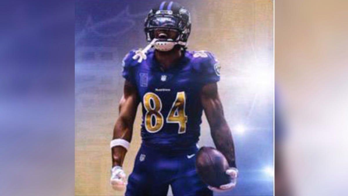 Antonio Brown Shares Image Of Himself In Baltimore Ravens Uniform