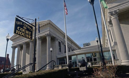 A two-hour emergency proceeding was held Saturday afternoon at the Erie County Courthouse.