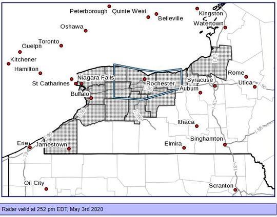 Area of Freeze Watch 0305