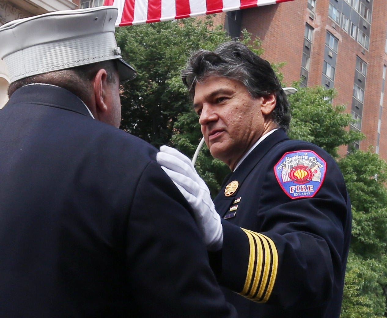 White Plains Fire Department Deputy Chief Edward Ciocca died Friday night of complications from COVID-19. Ciocca was a loving father, a devoted firefighter a true leader and second generation firefighter who served for 35 years, he rose to the rank of Deputy Chief like his father before him. May 2, 2020.