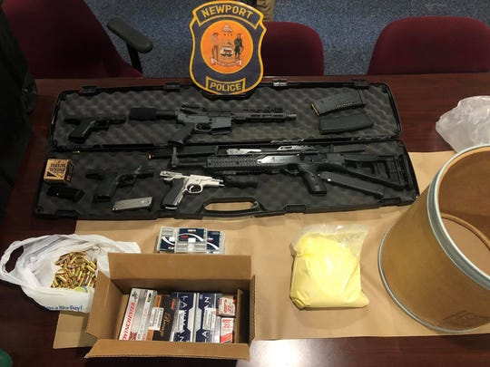 Police recovered more than 3,000 grams of suspected fentanyl, multiple guns and ammunition from three separate locations in connection to a 28-year-old Wilmington man.