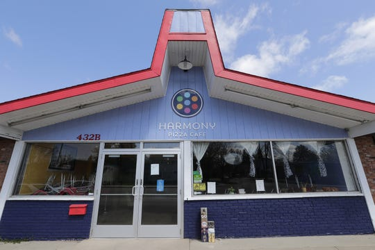 Harmony Pizza has closed at 432 W. Wisconsin Ave. in Appleton.  (Photo: Dan Powers/USA TODAY NETWORK-Wisconsin)