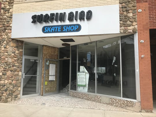 Green Gecko Grocer and Deli will move into the former Surfin' Bird space at 222 E. College Ave. in downtown Appleton.
