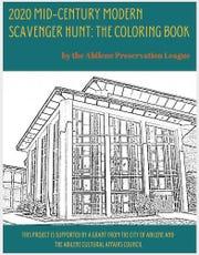 Abilene Preservation League's coloring book