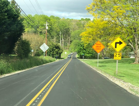 A contractor recently repaved a stretch of Monte Vista Road in the Candler area.